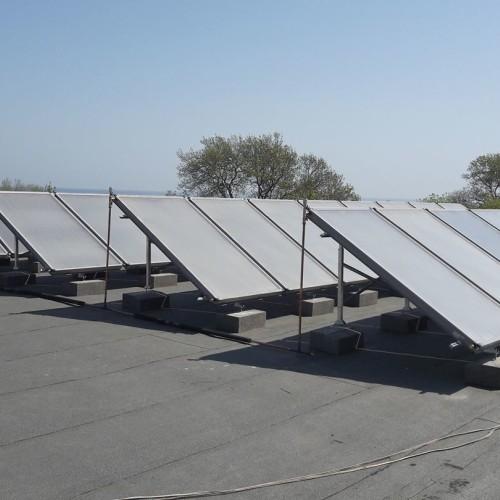 Монтаж на слънчеви системи Спортна база Балканика с.Китен