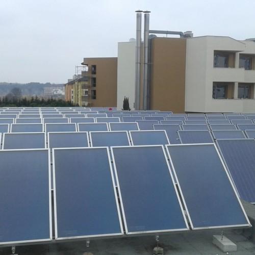Монтаж на слънчеви системи х-л Мирамар гр.Обзор